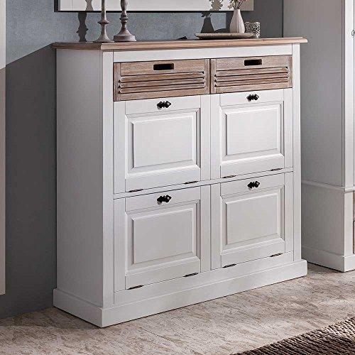 besonderer schuhschrank aus fichte. Black Bedroom Furniture Sets. Home Design Ideas