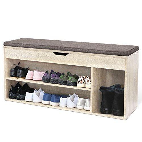 Schuhschrank aus Ahorn Holz - groß & massiv