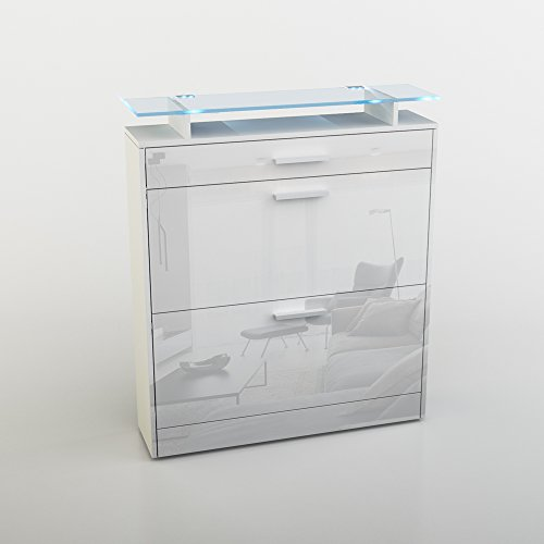 hochglanz schuhkipper. Black Bedroom Furniture Sets. Home Design Ideas