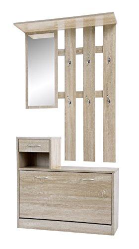 schuhkipper mit spiegel. Black Bedroom Furniture Sets. Home Design Ideas