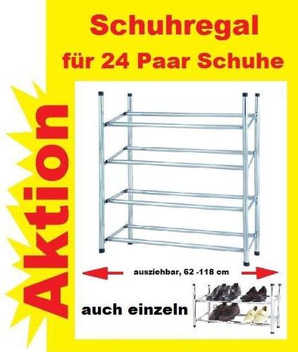 Schuhregal Holz Metall Stapelbar ~ Große Auswahl an Metall Schuhregalen für Flur, Wand und Keller