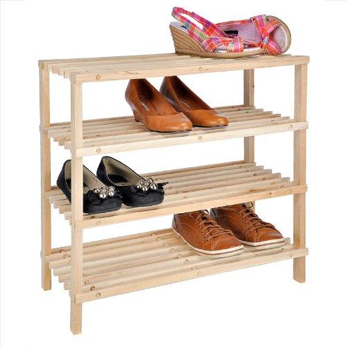 Schuhschrank holz aus massivholz echtholz for Schuhschrank soft 012 94