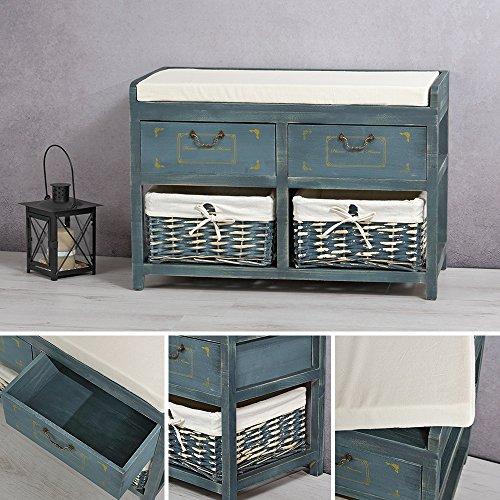 praktische sitzbank mit k rben in verschiedenen varianten. Black Bedroom Furniture Sets. Home Design Ideas