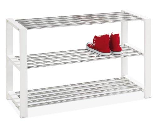 Schuhregal Holz Metall Stapelbar ~ Schuhregale aus Metall  stapelbar für Flur und Keller