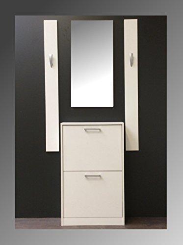 Schuhschrank spiegel kompaktgarderobe sina garderobe for Schuhschrank spiegel