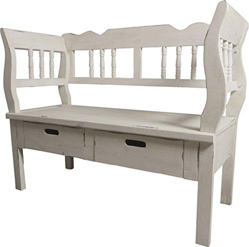 attraktive schuhbank im antik stil. Black Bedroom Furniture Sets. Home Design Ideas