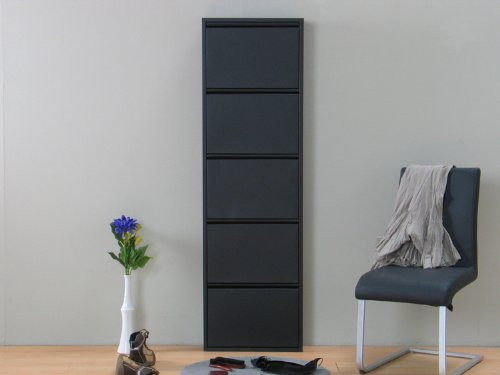 gro er schuhschrank xxl f r gro e schuhsammlung. Black Bedroom Furniture Sets. Home Design Ideas