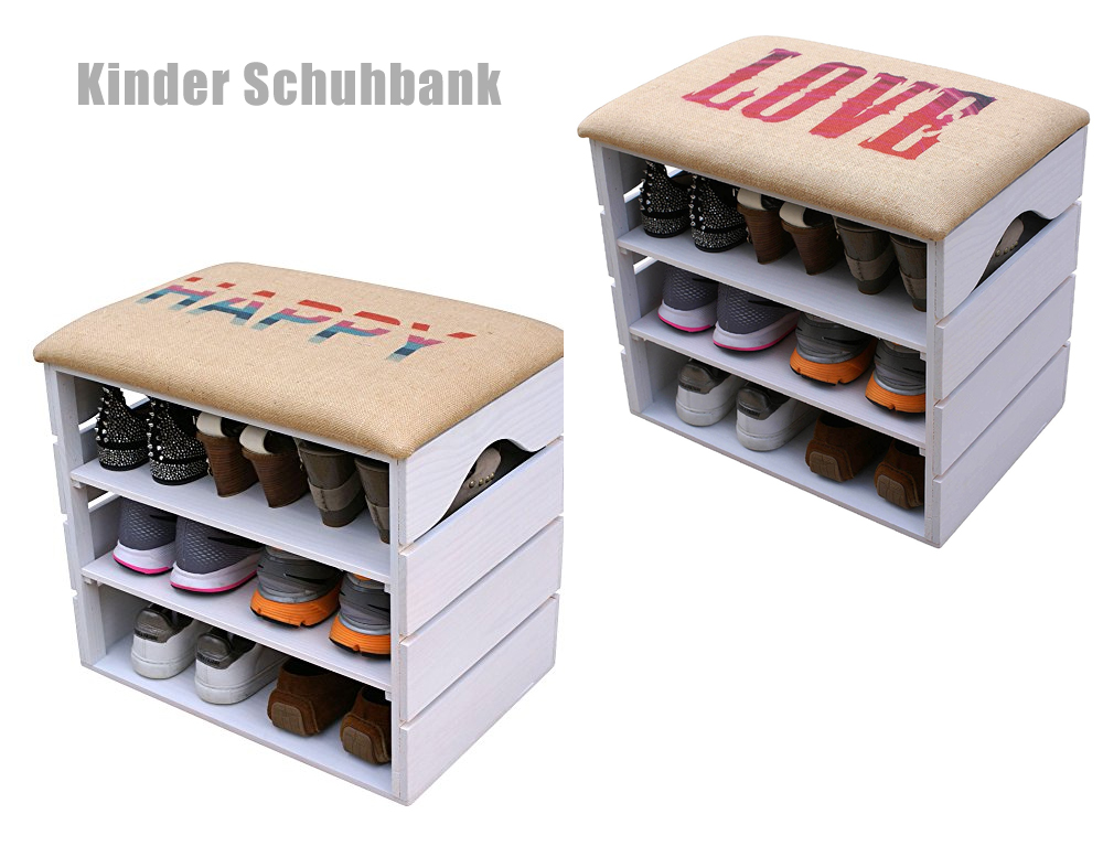 schuhbank sitzbank f r kinder g nstig kaufen. Black Bedroom Furniture Sets. Home Design Ideas