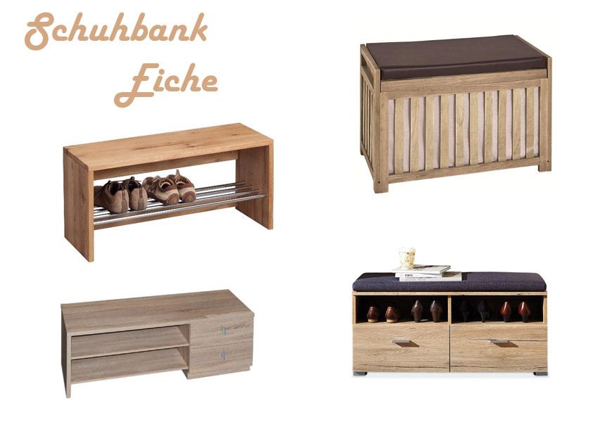 Schuhbank Eiche