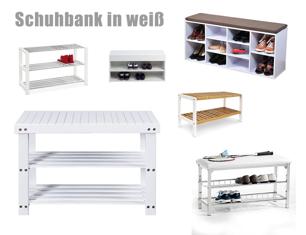 sch ne schuhbank in weiss. Black Bedroom Furniture Sets. Home Design Ideas