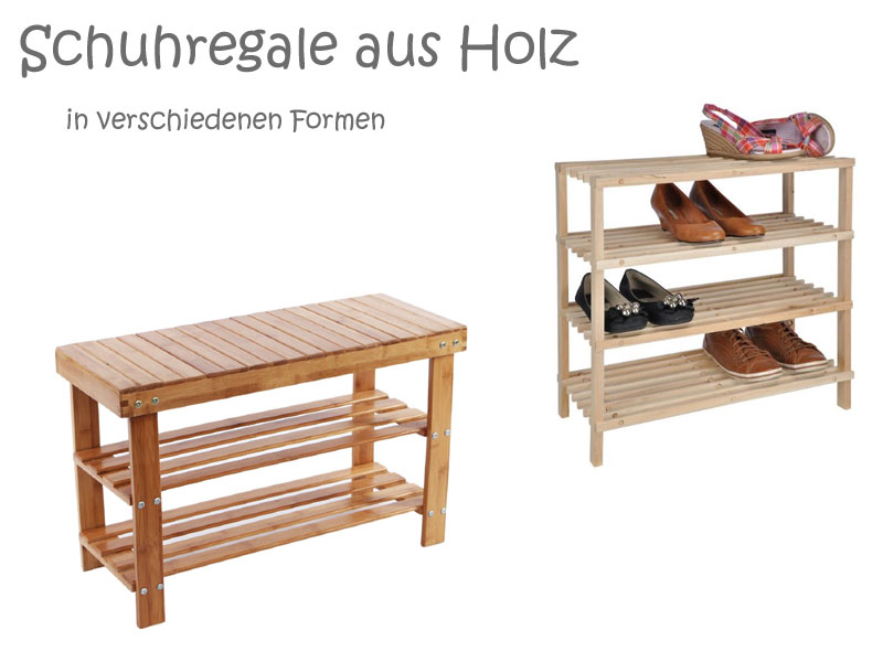 holz schuhregal aus akazienholz zedernholz oder walnuss. Black Bedroom Furniture Sets. Home Design Ideas