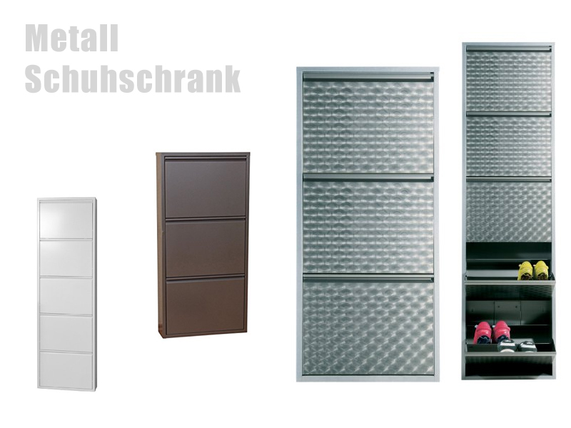 schuhschrank aus metall. Black Bedroom Furniture Sets. Home Design Ideas